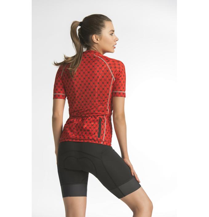 Cycling shirt Galaxy Red - KKK-9G4 - packshot