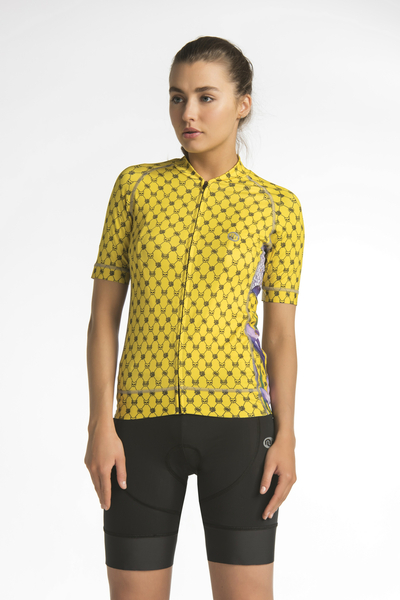 Cycling shirt Crocus - KKK-1VK