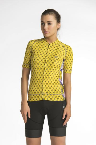 Koszulka rowerowa Krokusy - KKK-1VK