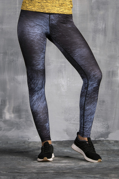 7/8 Leggings mit Multifunktions-Bund Black Cat - OSLP7-124