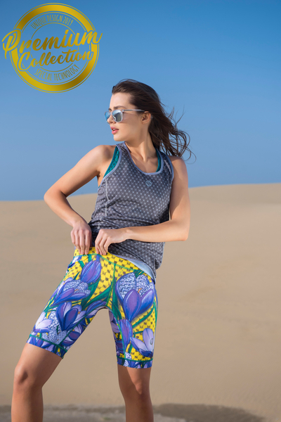 Kurze Leggings 4K UltraHD Crocus - OSKK-1VK
