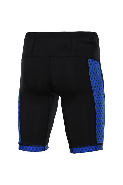 Leggings Short Black - Galaxy Blue - OLKT-90-9G7