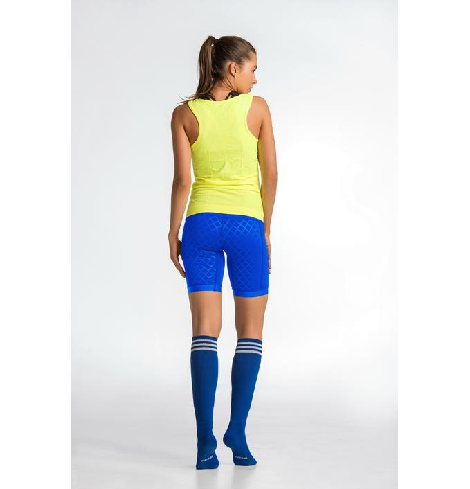 Short Leggings Shiny Blue - OSKK-50 - packshot