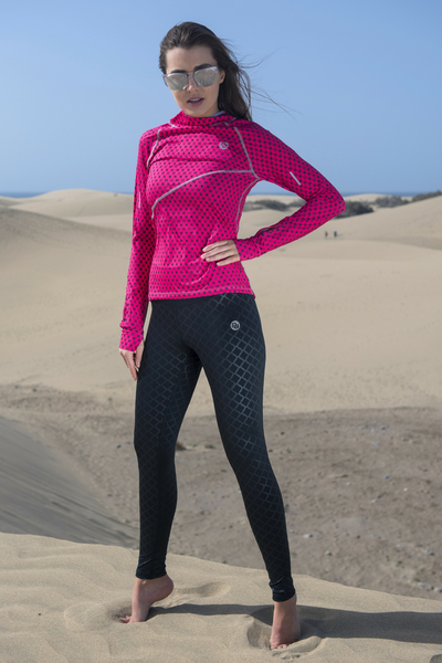 Running Leggings with a belt - OSLP-90