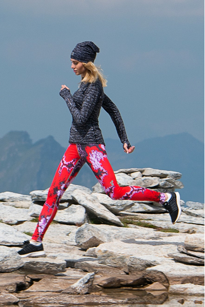 Running Leggings with a belt - OSLP-1020
