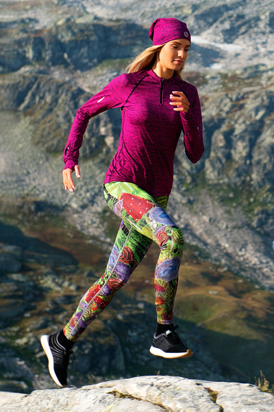 Running Leggings with a belt - OSLP-1025