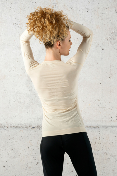 Ultra Light Breathable Longsleeve Beige - BLD-11