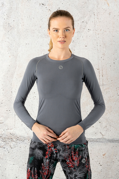 Ultra Light Breathable Longsleeve Grey - BLD-80