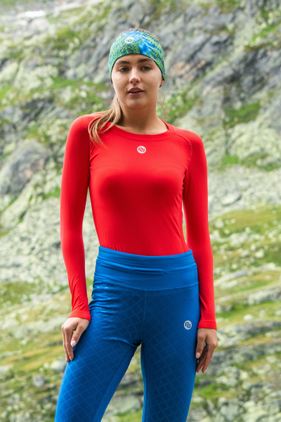 Ultra Light Breathable Longsleeve  Red - BLD-20