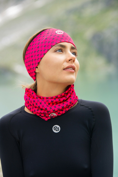 Band Thermoactive Windstop Galaxy Pink - AON-9G2