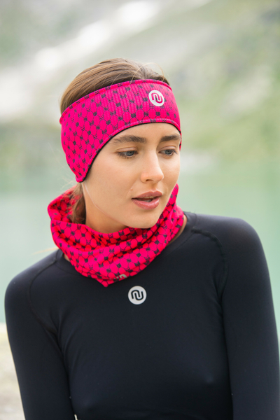 Band Thermoactive Windstop Galaxy Pink - AOP-9G2