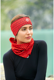 Band Thermoactive Windstop Galaxy Red - AOP-9G4 - packshot
