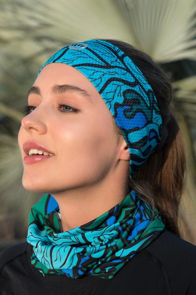 Ultra Headband Mosaic Turquoise - AOL-9M2