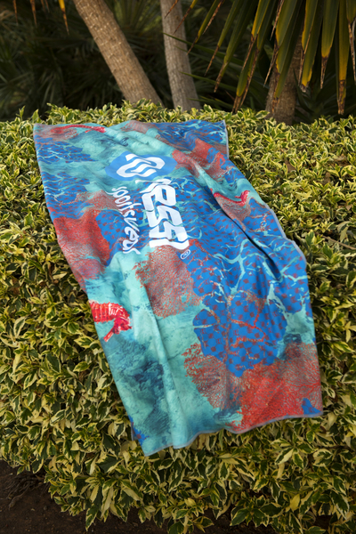Microfiber towel Coral Reef - ARE-1VR XL