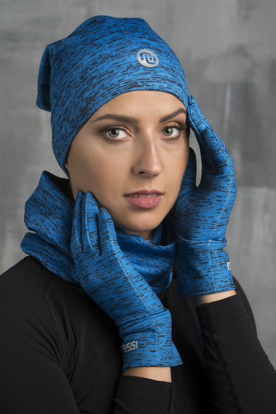 Gloves PRO Cobalt Melange - AR-511