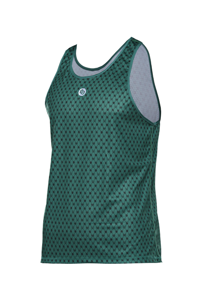 Singlet Male Galaxy Green - SMK2-9G5