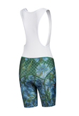 Bike shorts with braces Cornflowers end Bumblebees - KSK-1VP - packshot