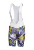 Bike shorts with braces Crocus - KSK-1VK - packshot