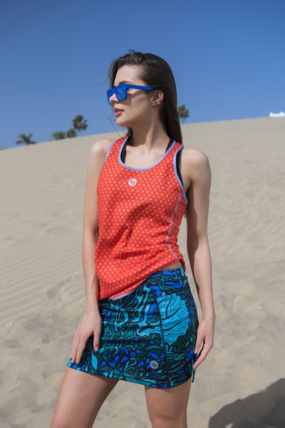 Ultra Skirt Mosaic Turquoise - SRDGL-9M2