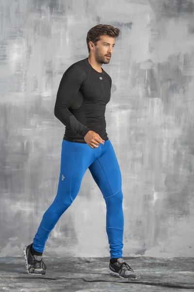 Spodnie Długie Pro Total Blue - SMP-50