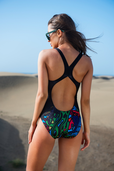 Swimsuit Mosaic Reef - SJK-9M1