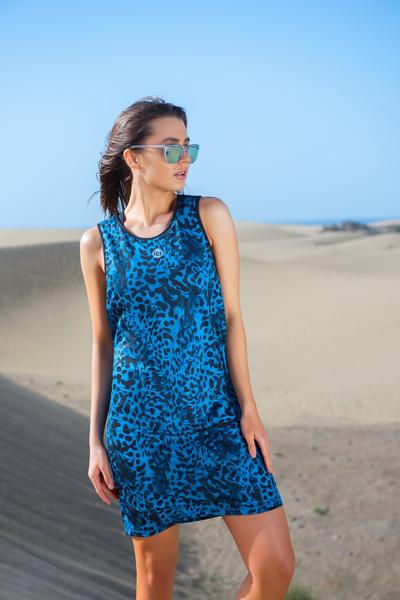 Summer Dress Blue Panther - OSS-9K3