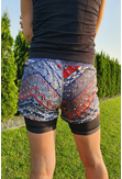 Shorts with Leggings Aztec - DSLG-9A1 - packshot