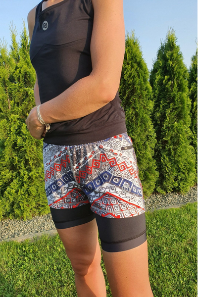 Shorts with Leggings Aztec - DSLG-9A1