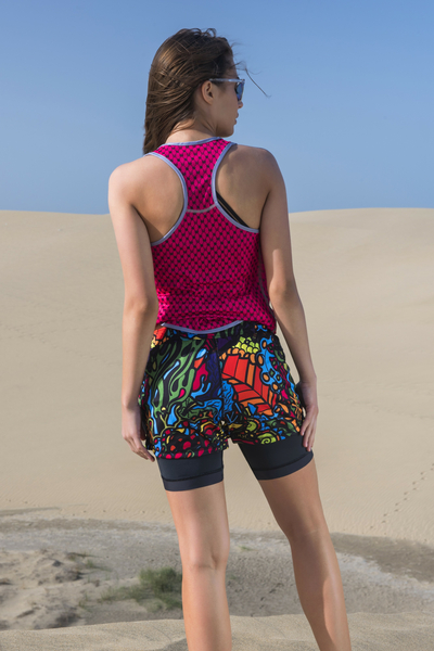Shorts with Leggings Mosaic Reef - DSLG-9M1