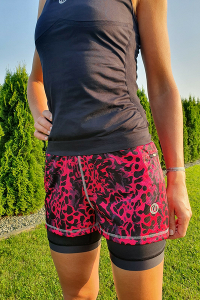 Shorts with Leggings Pink Panther - DSLG-9K1