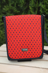 Messenger bag Galaxy Red - TLR-9G4