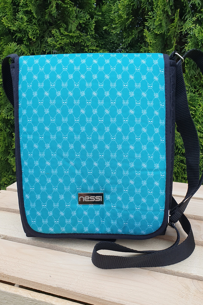 Messenger bag Galaxy Turquoise - TLR-9G6