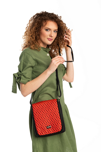 Messenger bag Galaxy Red - TLR-9G4