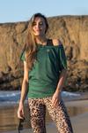Bat T-shirt Mirage Green - OTD-11X5