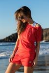 Bat T-shirt Mirage Red - OTD-11X4