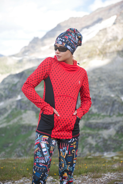 Insulated Sweatshirt Galaxy Red - HOK-9G4D