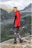 Insulated Sweatshirt Zip Galaxy Red - HOZ-9G4D - packshot