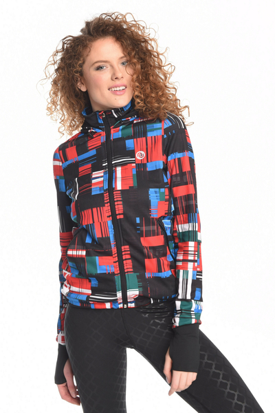 Hooded and zippered sweatshirt Krado - HRDK-11S1