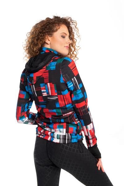 Ladies zipped hoodie Krado - HRDK-11S1