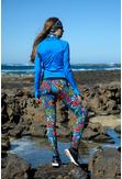 Training sweatshirt Zip Mirage Blue - LBKZ-11X7 - packshot