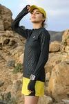 Training sweatshirt Zip Shiny Black - LBKZ-90