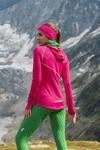 Training sweatshirt with a hood Galaxy Pink - LBK-9G2