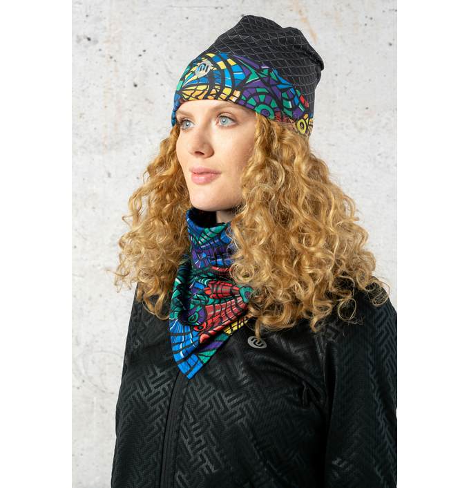 Thermoactive Triangular Small Scarf Mosaic Lumo - ATW-12M4 - packshot