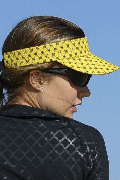 Sports visor Galaxy Yellow - ADR-9G1