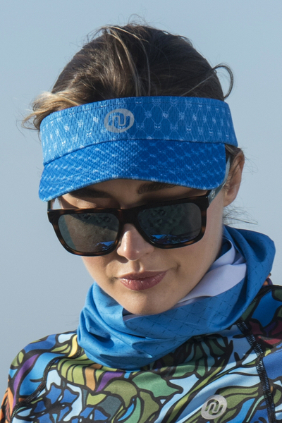Sports visor Galaxy Blue - ADR-9G7
