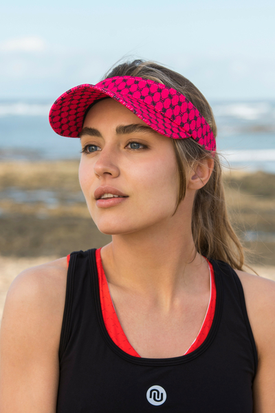 Sports visor Galaxy Pink - ADR-9G2