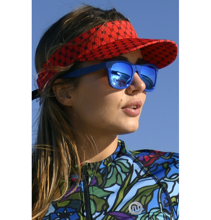 Sports visor Galaxy Red - ADR-9G4  - packshot