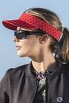 Sports visor Galaxy Red - ADR-9G4