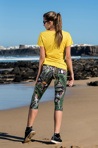 3/4 Leggings 4K Ultra HD Selva Sand - OSTP-11T1