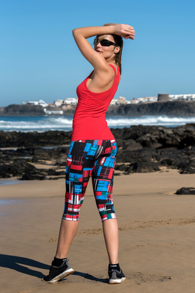 Colorful 3/4 Leggings New AGE - OSTZ-11S1